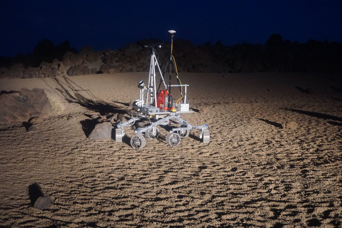 Tenerife rover field test
